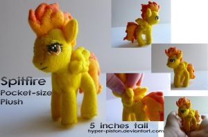 Spitfire Pocket-size Plush by Hyper-piston