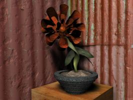 3D Flower - Chancholie by Barnman