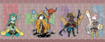 Bug Warriors Adoptables ::OPEN:: by willsps