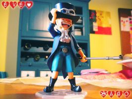 Sabo Action Figure by eve-sh