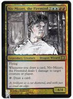 Magic Card Alteration: Dr. Horrible Niv by Ondal-the-Fool