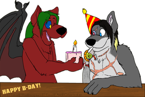 B-DAY GIFT - commission by Grion