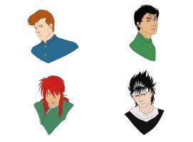 YYH Busts by Silvre