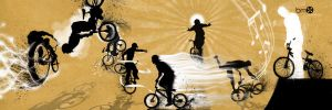 bmx WALL by illustraitor666