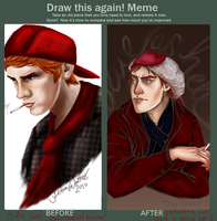 Draw this Again meme by Oranjes