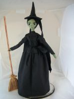 Wicked witch by dollmaker88