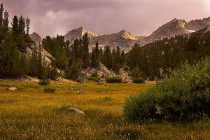 Meadows and Mountains by shubat