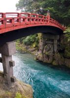 Shinkyo Bridge in Nikko by SuperPope