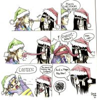 Merry Christmas Orochi Style by Draikairion