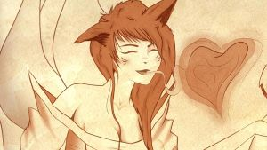 Ahri the Fox by GaiaR