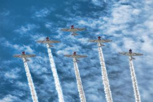 Formation Flying by CharlesWb