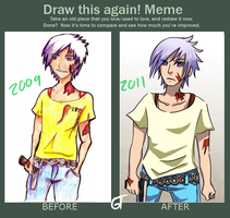 Meme: Draw this again by goldenthyme
