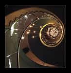 Illuminated Spiral Stairs by 2510620