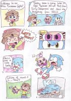 Sonic VS Poof part 1 by LeniProduction