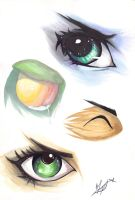 ~League Of Legends~ Eyes~ by Pasta-neko