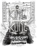 King Kong Promo Book Illustrat by lilmikeegee