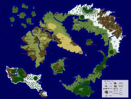 Viterra World Map by TerraYume