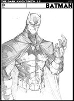BATMAN NEW 52 by DRAKEFORD