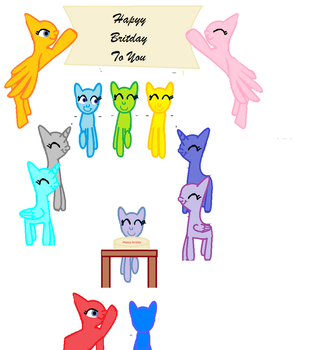 Base Hapy Britday by Snowdropyy