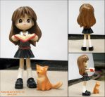 Pinky St. Custom: Hermione by Asphydel
