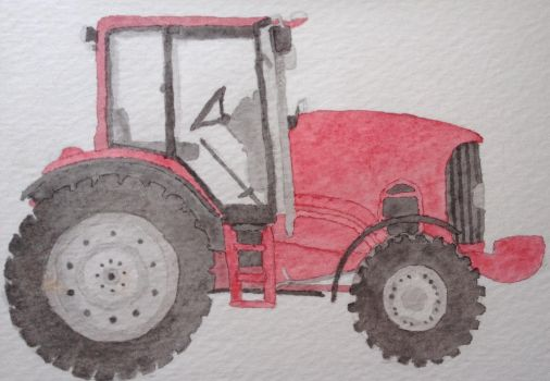 Tractor by FIRNENxSAPHIRA