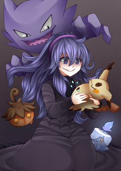 Hex Maniac's new buddy by Sallynyan