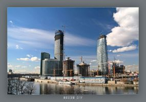 Moscow City in progress by AlexWild