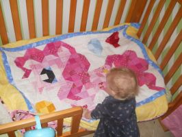 Pinkie Pie Quilt by jysalia