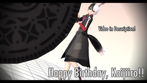 Happy Birthday Kaijiiro!! (+VIDEO) by TwilightAngelTM