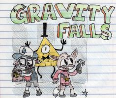 Sparkles in Gravity Falls by MrGelo97