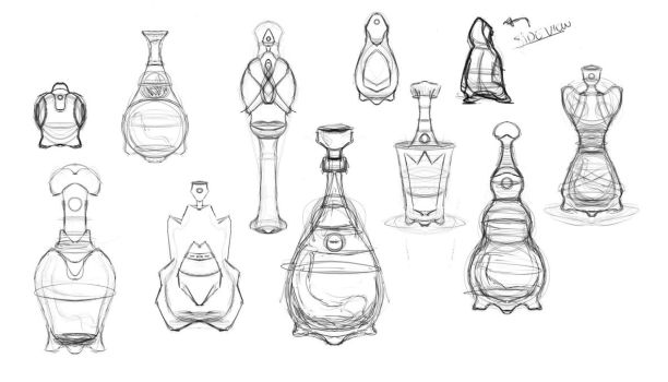 Bottle concepts by Seeb-san