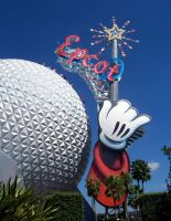 Epcot Ball by solefield