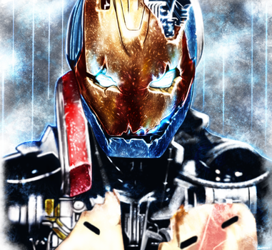 Avengers: Age of Ultron  - Ultron by p1xer