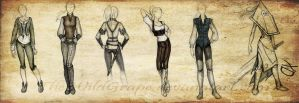 female fantasy outfits by TheWildGrape