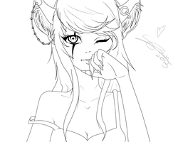 Line Art 02 by TheLivingScarecrow