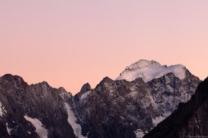 Rose du soir, Hautes Alpes by PierreRodriguez