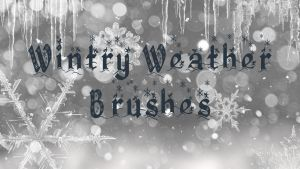 Wintry Weather Brushes by xxtayce