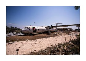 Thandwe Airport by lightdrafter