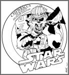Chewbacca in Bounty Hunter Disguise by NathanKroll