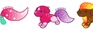 Galaxy Pup Auction 1/3 OPEN by Forelleo