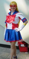 Sailor V cosplay by ReniMilchstrasse