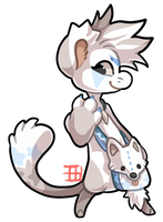 027 - Arctic Fox by TheKingdomOfGriffia
