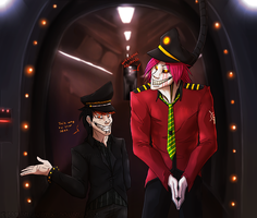Welcome Aboard by MutantParasiteX