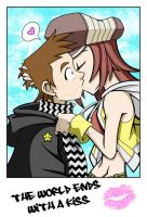. The world ends with a kiss . by Sleepless-Piro
