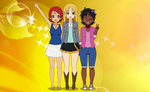 Sunshine Pretty Cure: Civilian Forms by FireChick12012