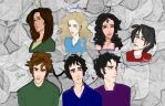 The Host characters by Magewriter