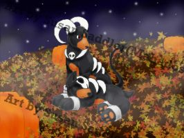 Happy Halloween by ClemiKinkajou