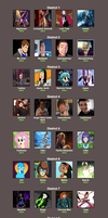 Stocking Rose Hunger Game 3 Cast by Stocking-Star