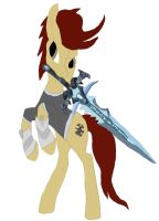 Try Make Armored Pony Hold Frostmourne work 2 by daylover1313