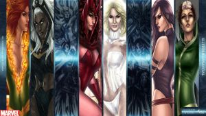 X-Women Wallpaper by KGanArt